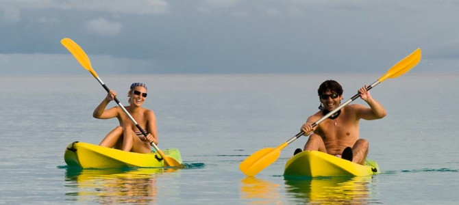 From a modern day hermit to finding love and companionship in a kayaking partner